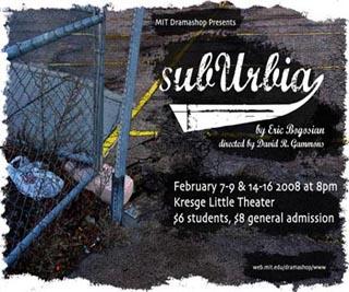 Theater Arts Topics - Suburbia