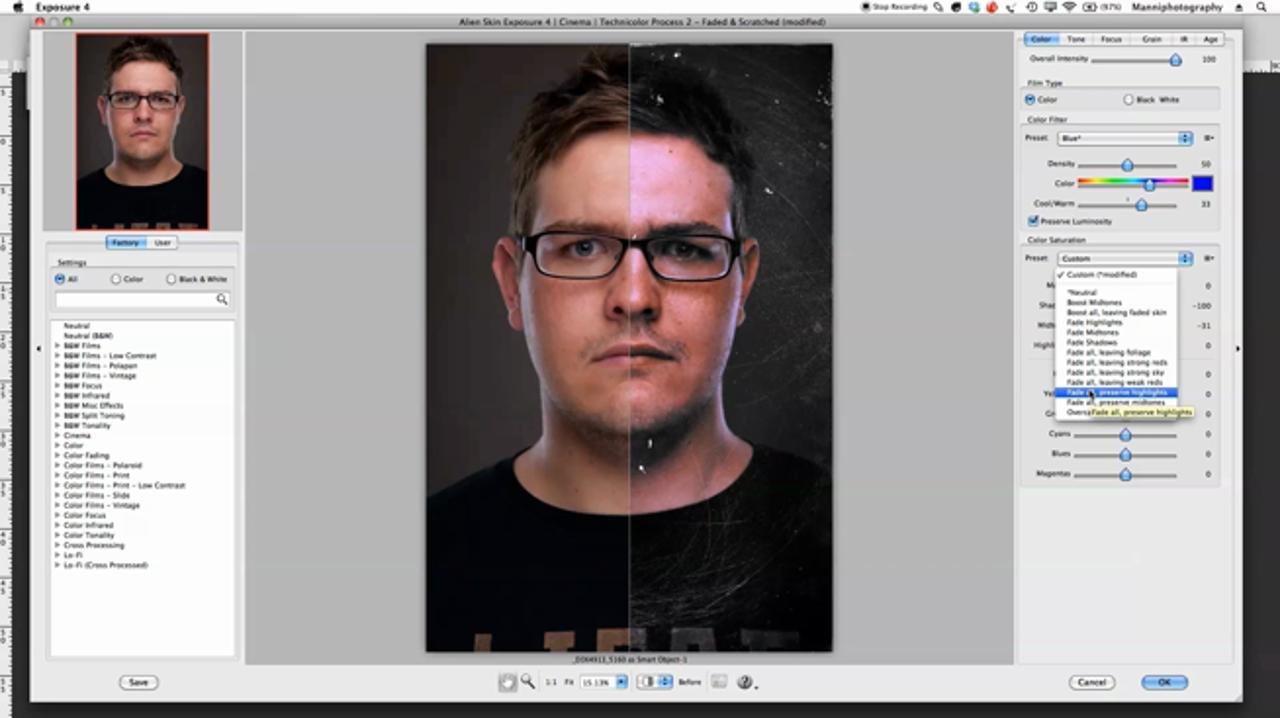 Alien Skin Exposure in Photoshop