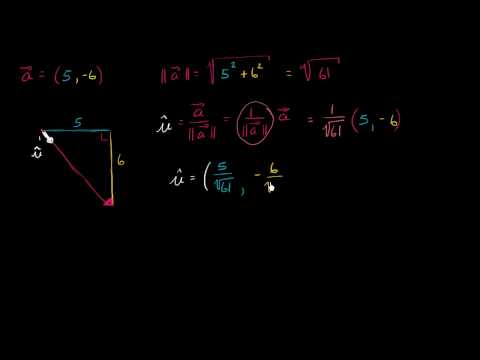Vectors in magnitude and direction form