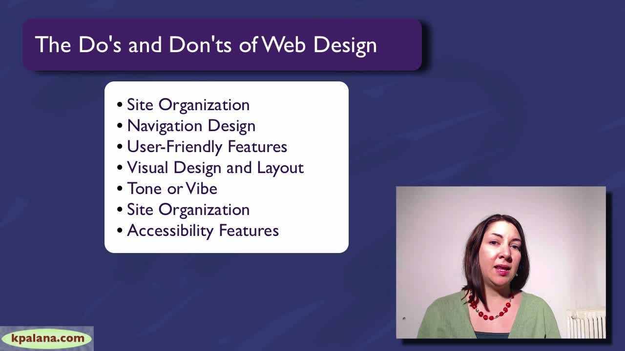 The Do's and Don'ts of Web Design: Improve Your Web Site