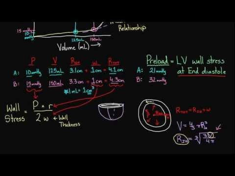 Pressure volume loops