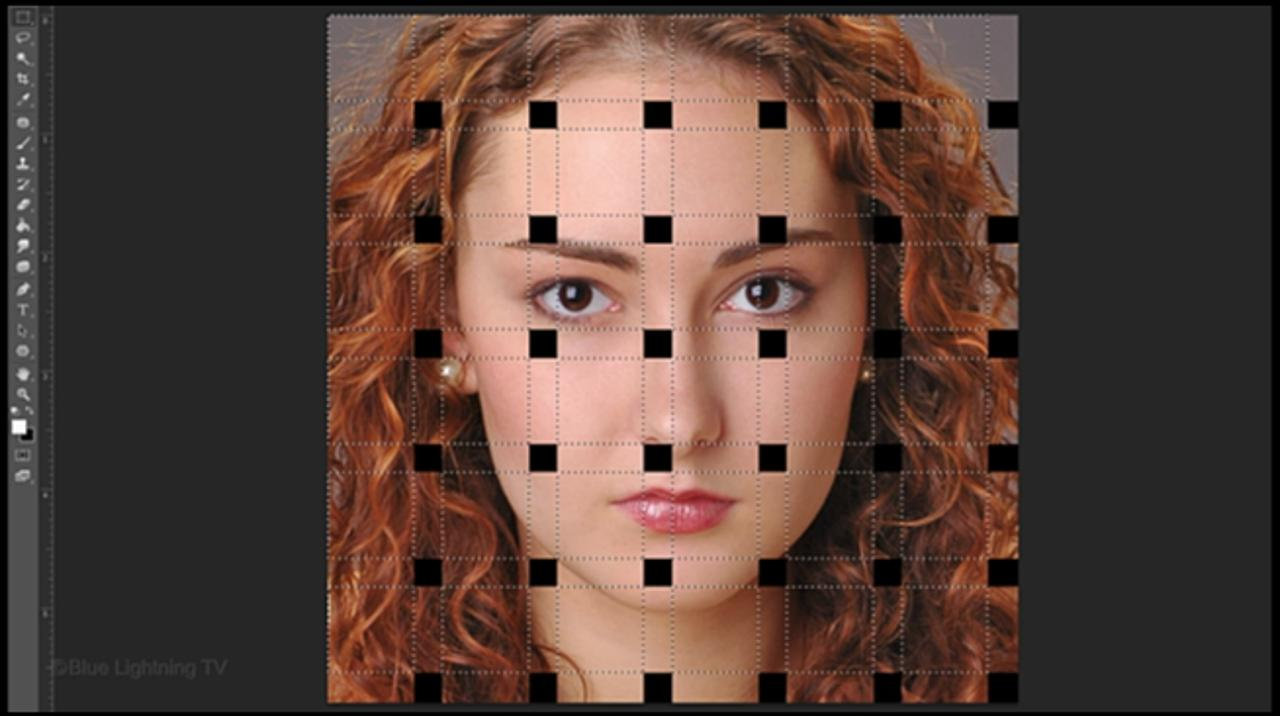 Photoshop: How to Make a Basket-Weave Effect from a Photo