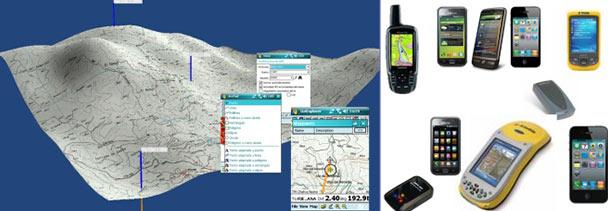 Dispositivos Móviles para la gestión del territorio