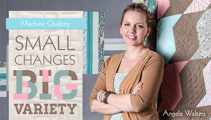 Machine Quilting: Small Changes, Big Variety