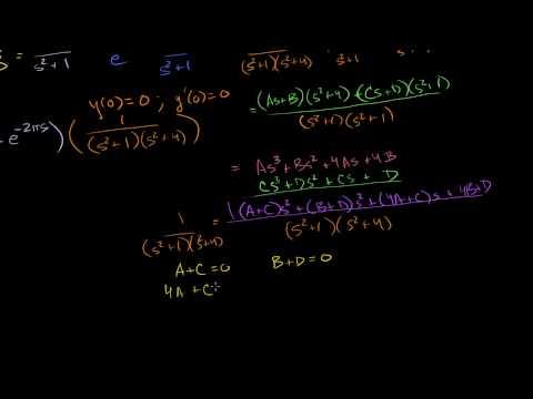 Laplace transform to solve a differential equation