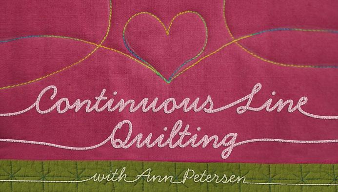 Continuous Line Quilting