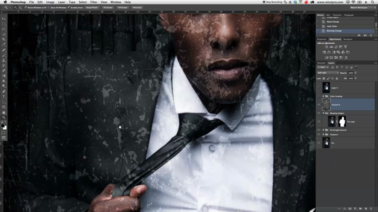 Working & Applying Textures in Photoshop
