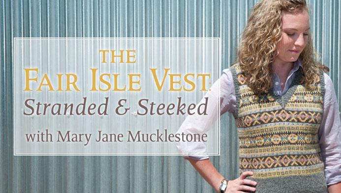 The Fair Isle Vest