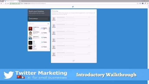 Twitter Marketing For Small Businesses