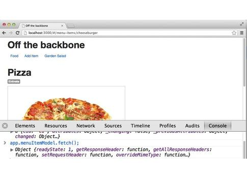 Up and Running with Backbone.js