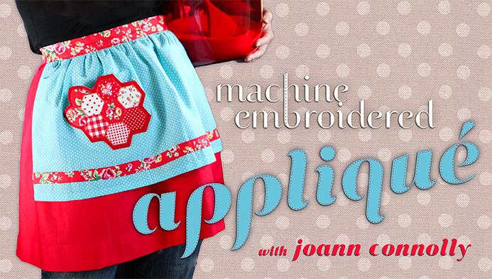 Machine Embroidered Appliqu