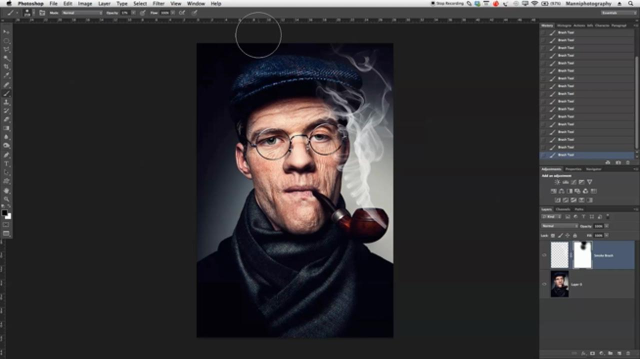 Creating A Smoke Effect In Photoshop