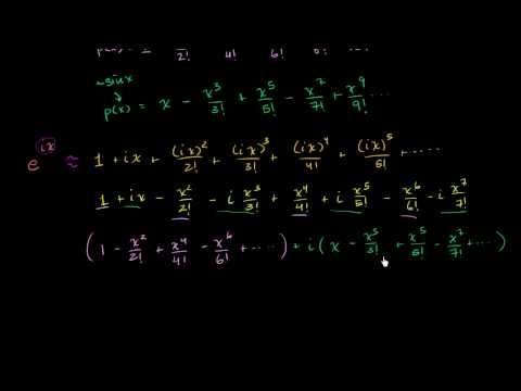 Maclaurin series and Euler's identity