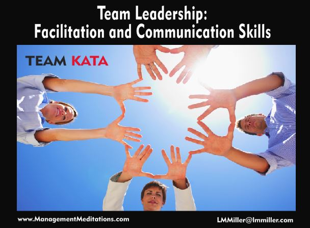 Team Leadership: Facilitation and Communication Essentials