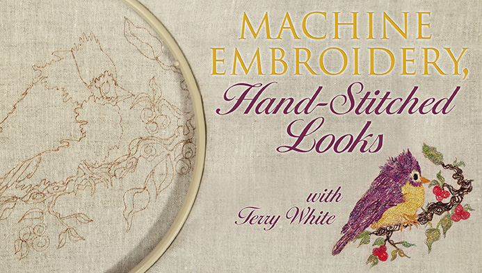 Machine Embroidery, Hand-Stitched Looks