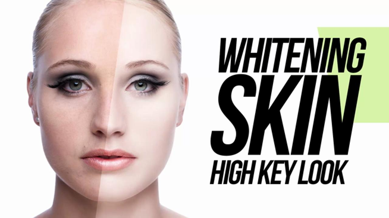 How to Whiten Beauty Skin In Photoshop