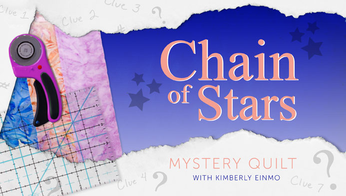 Chain of Stars Mystery Quilt