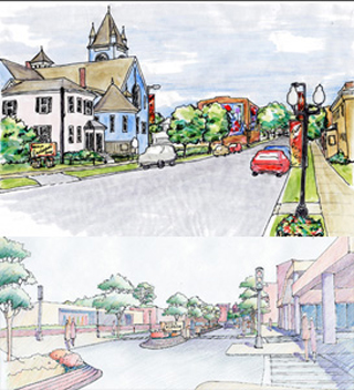 Revitalizing Urban Main Streets: Hyde/Jackson Square & Roslindale Square, Boston
