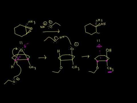 Ring-opening reactions of epoxides