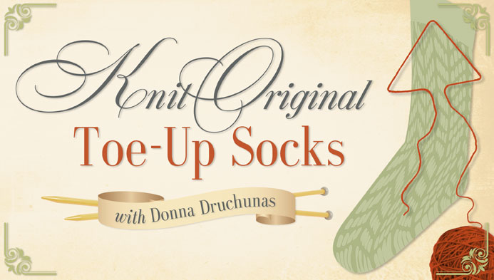 Knit Original Toe-Up Socks