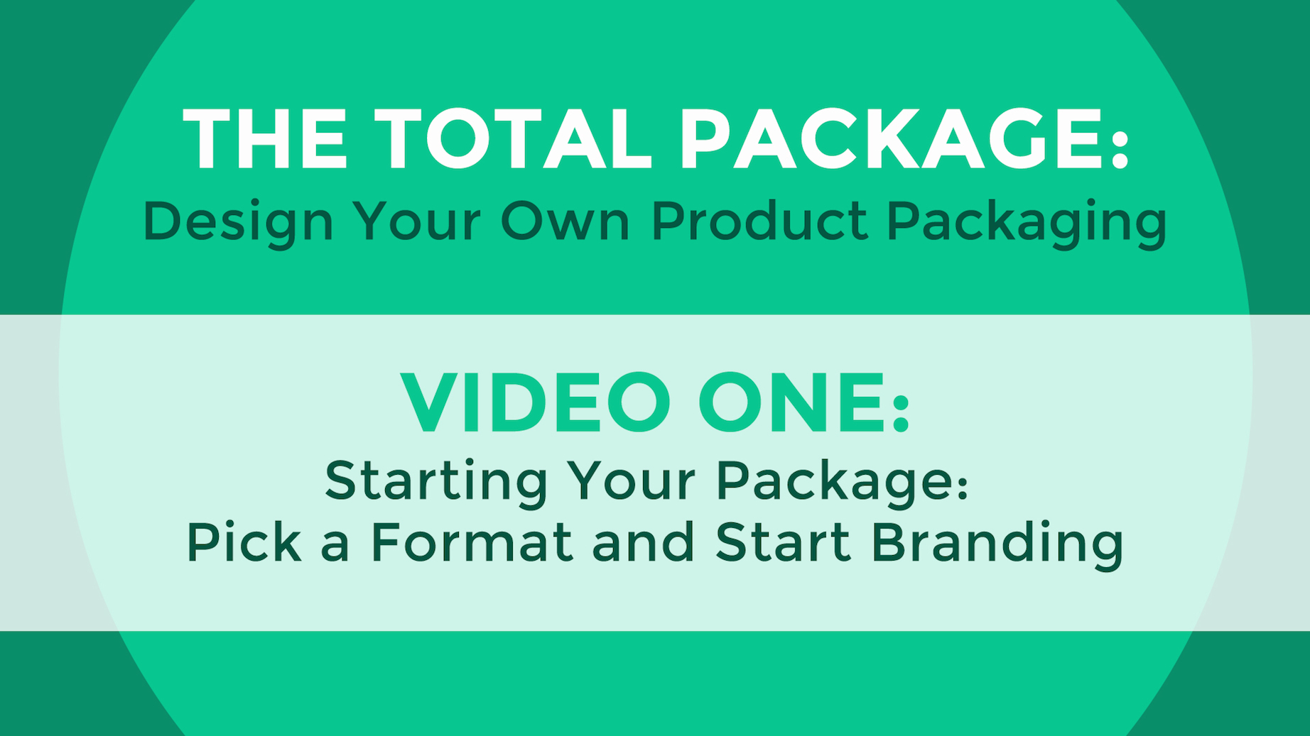 The Total Package: Design Your Own Product Packaging