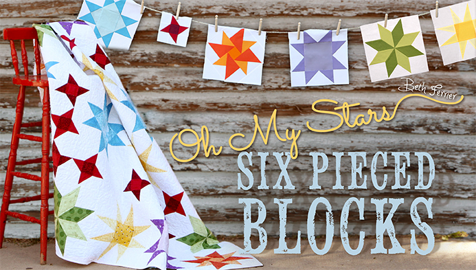 Oh My Stars! Six Pieced Blocks