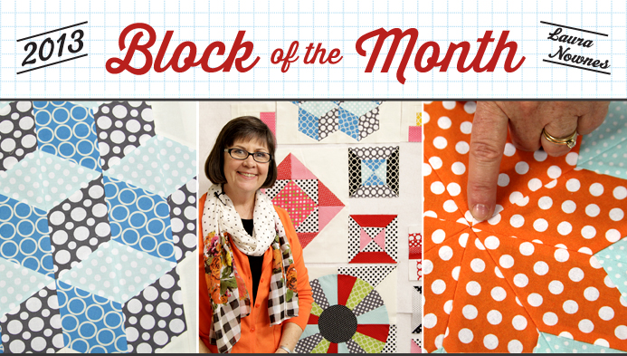Craftsy Block of the Month 2013
