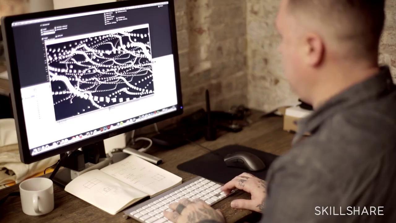 Programming Graphics II: Generative Art Animation