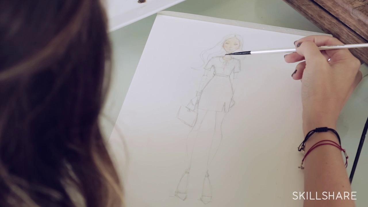 Drawing Couture: Turning Fashion Designs into Art
