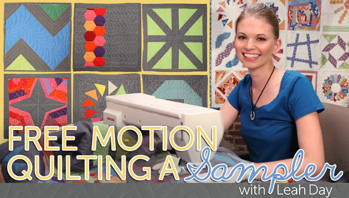 Free Motion Quilting a Sampler