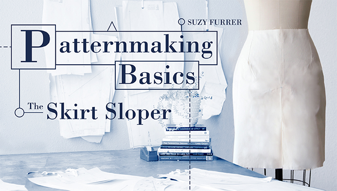 Patternmaking Basics: The Skirt Sloper
