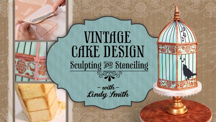 Vintage Cake Design