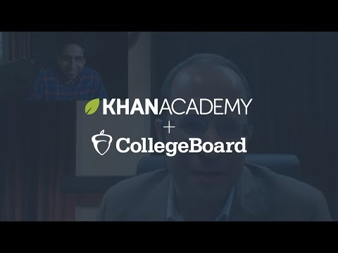 Overview of SAT prep on Khan Academy