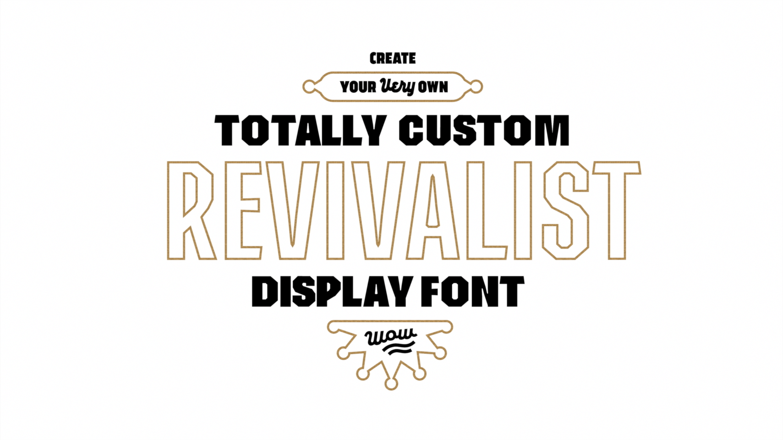 Type Design: Build a Simple Display Font
