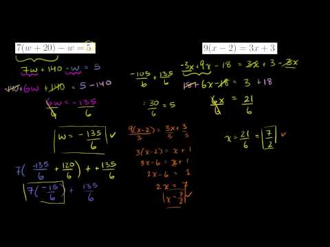 Simplifying complicated equations