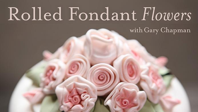 Rolled Fondant Flowers