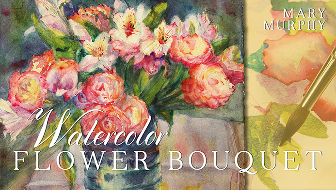 Watercolor Flower Bouquet