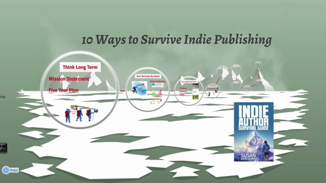 10 Ways to Survive Indie Publishing