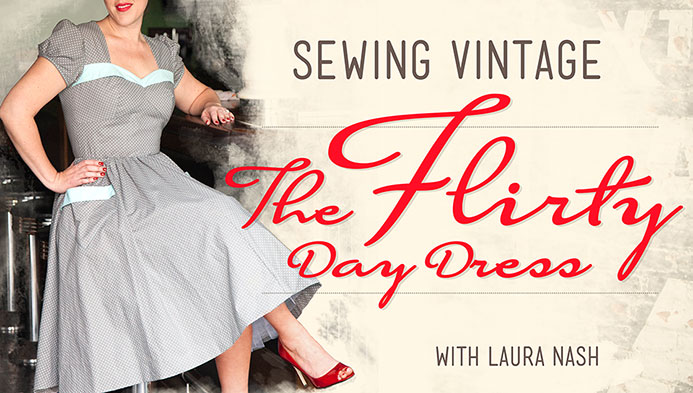 Sewing Vintage: The Flirty Day Dress