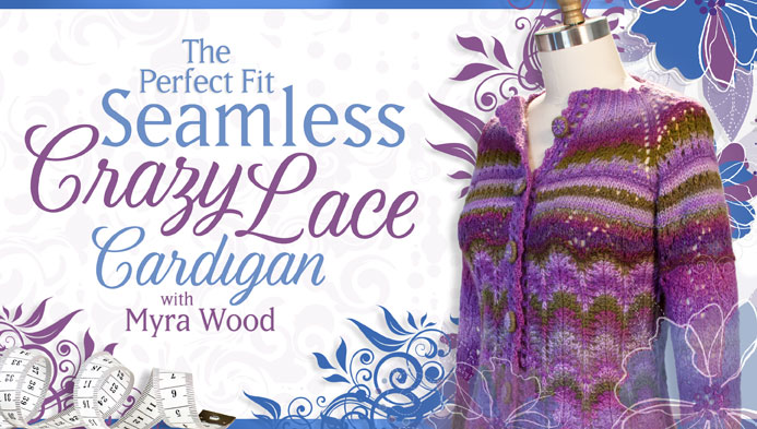 The Perfect Fit Seamless Crazy Lace Cardigan