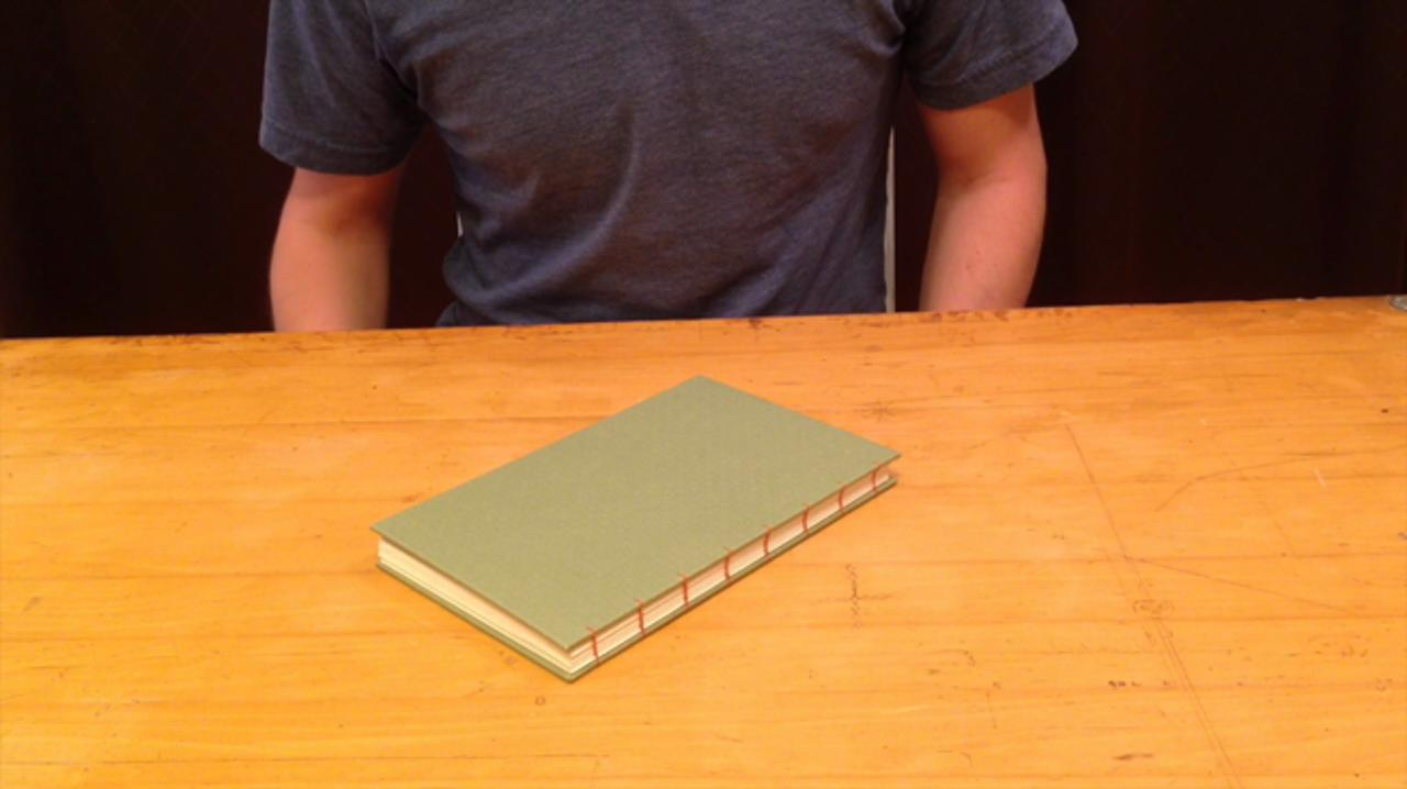Intermediate Bookbinding: Make a Coptic Stitch Book