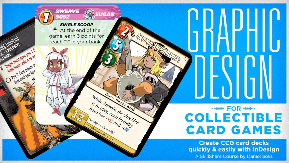 Graphic Design for Collectible Card Games