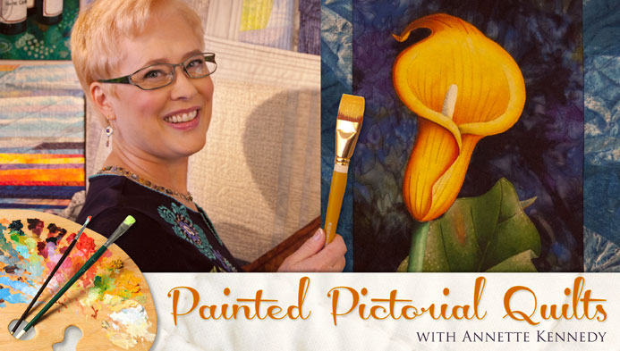 Painted Pictorial Quilts