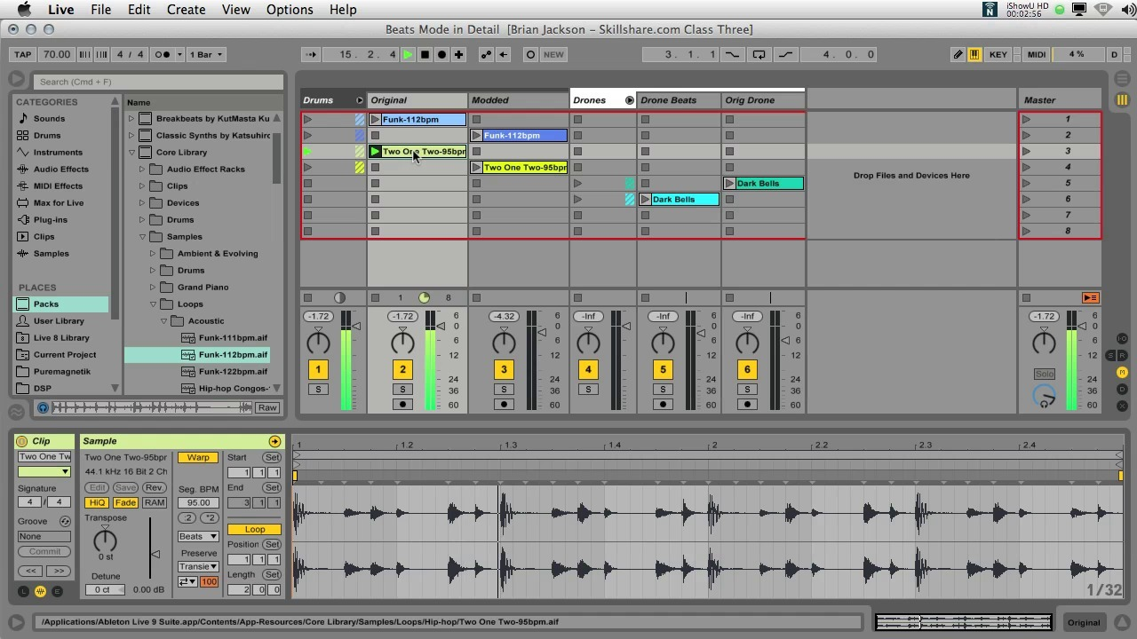 Ableton Live III: Shape Your Own Audio & Beats