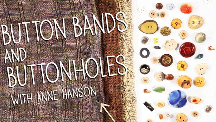Button Bands & Buttonholes