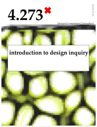 Introduction to Design Inquiry