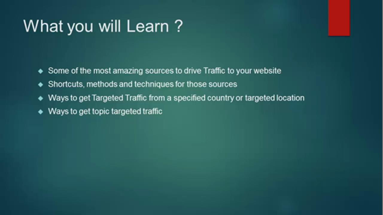 Traffic Secrets: Traffic of 1000's of visitors without SEO