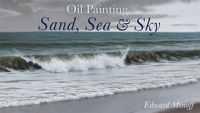 Oil Painting: Sand, Sea & Sky