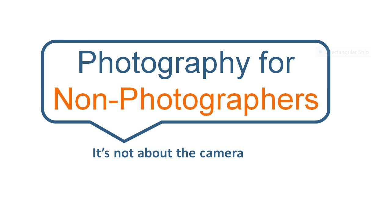 Photography for People who are not Photographers