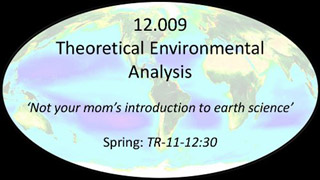 Theoretical Environmental Analysis